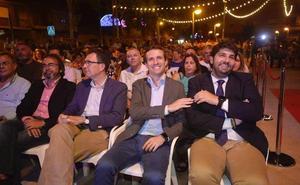 Pablo Casado celebra las fiestas de Sangonera