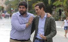López Miras: «Votaré la candidatura de Pablo Casado»