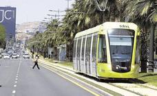 El tranvía de Murcia modifica su servicio a partir de este lunes por obras