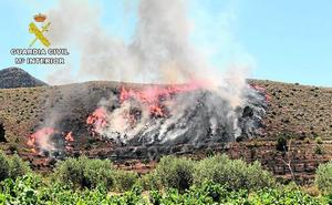 Investigado por el fuego del Cerro del Oro