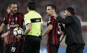 El Milan apela ante el TAS su exclusión de la Europa League