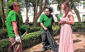 Más de 60 lorquinos en riesgo de exclusión social participan en un curso de paisajismo
