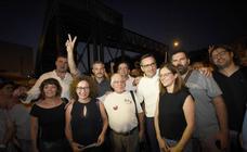Conesa y Urralburru celebran el triunfo de la plataforma vecinal