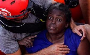 La superviviente rescatada por el Open Arms: «Me escapé de Camerún porque mi marido me golpeó»