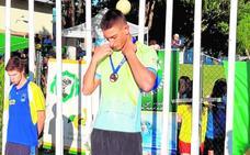 Bronce nacional para Andrés Abellaneda en 200 espalda