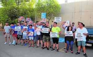 Protesta sin protestantes del Lorca FC