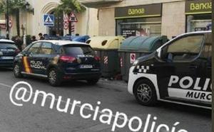 Detienen a un atracador que trataba de robar en una sucursal bancaria en Santiago el Mayor