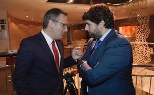 Conesa y López Miras se reunirán el próximo lunes por primera vez