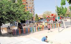 Las obras en el parque de la Compañía se prolongarán hasta las fiestas patronales