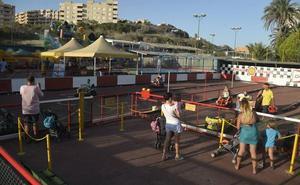 Un parque infantil y nuevas tecnologías para pasar el fin de semana en familia