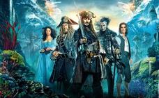 Javier Bardem y Johnny Depp, piratas