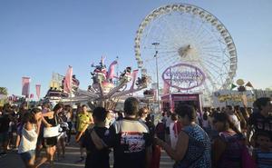 Las atracciones de la Feria de Murcia abrirán al público 13 días a partir del 30 de agosto