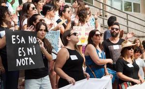 Opositores docentes exigen «transparencia» tras la «escabechina» de la primera prueba