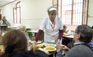 Jesús Abandonado sirvió en 2017 más de 300.000 comidas