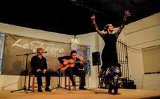 Cierre por bulerías para el arranque del Festival de Cante Flamenco de Lo Ferro