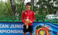 El tenista murciano Carlos Alcaraz se proclama campeón de Europa sub 16 en Moscú