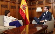 Casado y Sáenz de Santamaría rompen la negociación para formar una dirección de unidad