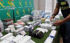 Desarticulan en Alhama un punto de distribución de sustancias dopantes