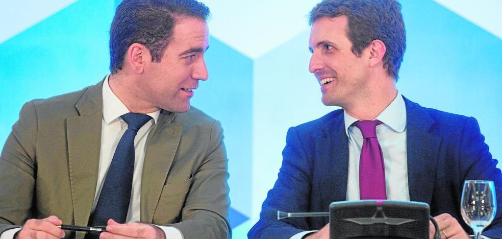 La elección de Teodoro García como secretario general sitúa a la Región en la cúspide del PP