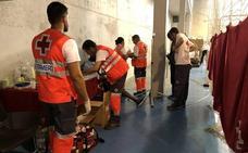 Llegan al puerto de Cartagena nueve inmigrantes rescatados de una patera