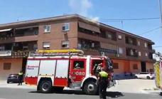 Arde la cocina de una vivienda en la avenida Miguel Induráin en Zarandona