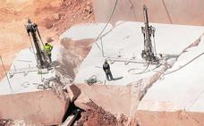 La exportación de mármol murciano se desploma a la mitad en solo cinco años