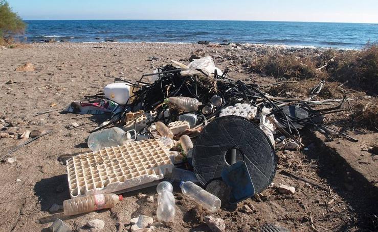 La zona cero de la basura marina en España