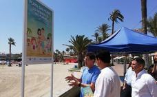 San Javier se suma a la iniciativa 'Playas sin humo'