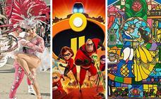 Carnaval de verano, cine, musicales y actividades refrescantes