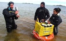 Los expertos temen un nuevo repunte de la turbidez del agua del Mar Menor