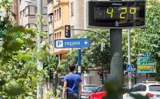 Amplian la alerta amarilla por calor en la Región hasta el domingo