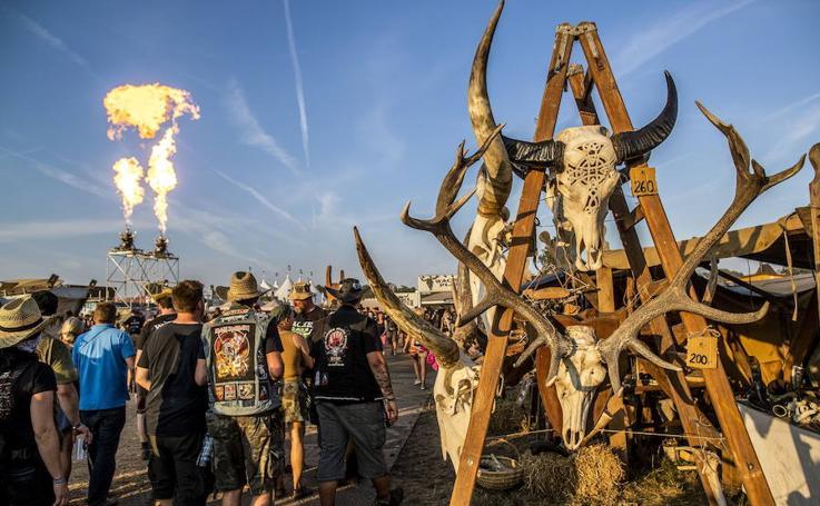 Un festival muy 'heavy'