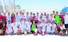 Un año brillante para el fútbol playa