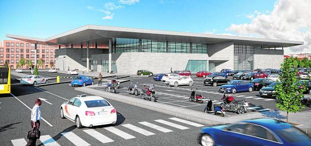 La Nueva Estacion De Tren Tendra Dos Alturas Y Un Vestibulo Con Luz