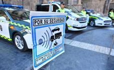 La DGT controlará la velocidad de 20.000 vehículos durante esta semana en la Región