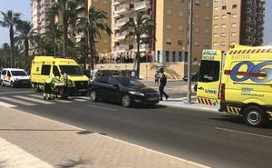 Dos jóvenes, heridas en un atropello en La Manga