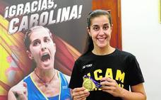 Carolina Marín, de «subidón» en la UCAM