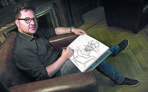 Un dibujante en la corte