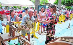 El Día del Esparto reúne a artesanos de la Región