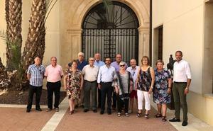 Los 23 representantes de las casas regionales visitan Murcia