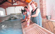 Zarandilla de Totana restaura su lavadero