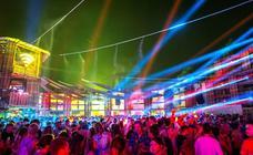 El festival Sziget ilumina el cielo de Budapest