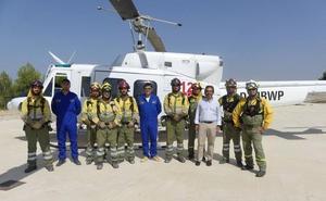 La Comunidad refuerza la capacidad de los medios aéreos para luchar contra los incendios