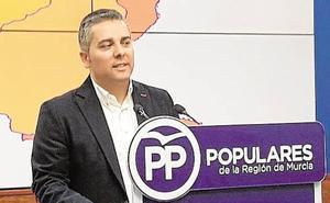 Jesús Cano (PP): «Es 'de circo' que Diego Conesa se reúna con Puig en lugar de hacerlo con la ministra Ribera»