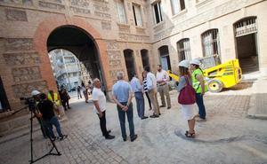 Comienzan las pruebas de carga en la Cárcel Vieja antes del inicio de las obras