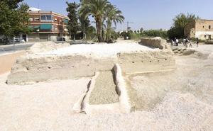 El entorno del Molino del Batán, enclave turístico del nuevo itinerario patrimonial de la Huerta de Murcia