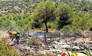 Susto por un fuego en El Roblecillo