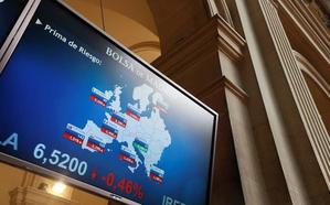 El Ibex-35 baja a los 9.600 y el BBVA pierde un 5% por la crisis turca