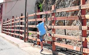 La «peligrosidad» de los novillos obliga a reforzar todo el vallado