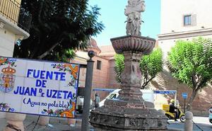 Luz verde a la rehabilitación de la fuente de Juan de Uzeta por casi 43.000 euros